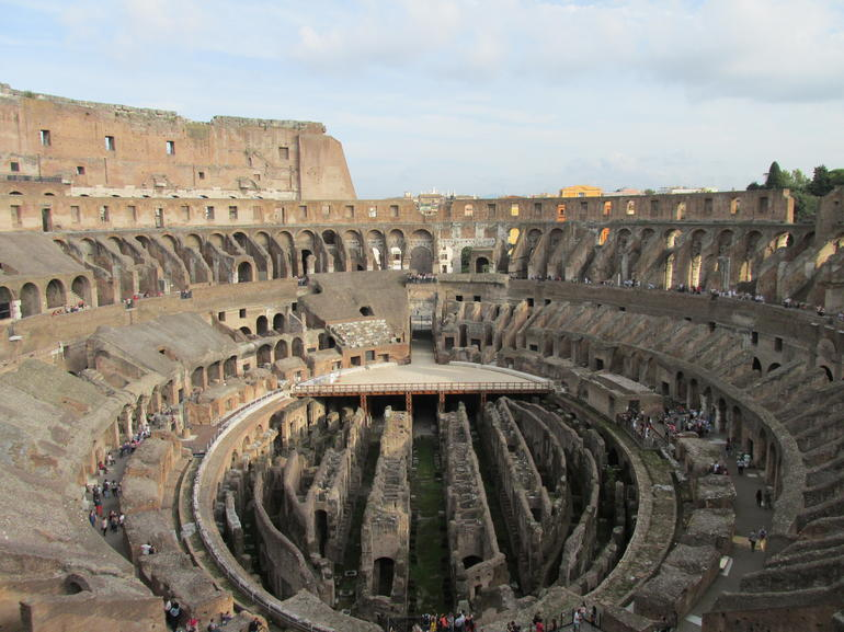 3rd level of the colosseum - Rome