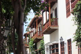 Beautiful balconies downtown Cartagena., Bandit - September 2012