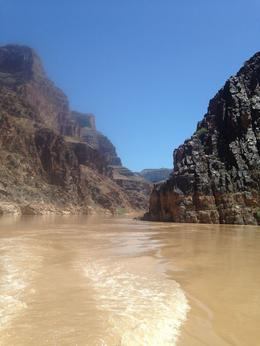 Photo of Las Vegas Grand Canyon White Water Rafting Trip from Las Vegas Boat view