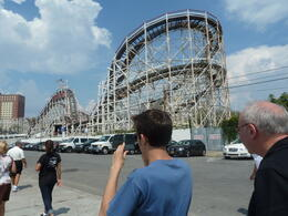 Photo of New York City New York Pizza Tour to Brooklyn and Coney Island Cyclone