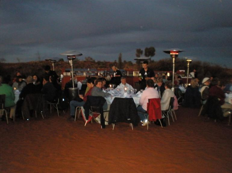 Dinner at the Rock - Ayers Rock