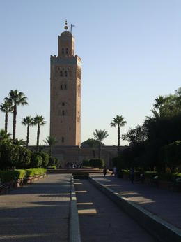 Koutoubia Tower, Emily - November 2013