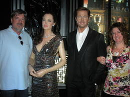 Photo of Las Vegas Madame Tussauds Las Vegas Ed, Angie, Brad and Alesia