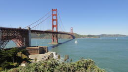 Photo of San Francisco Oakland Departure Transfer: from San Francisco Hotels Golden Gate Bridge.