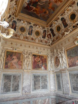 Photo of Paris Chateaux de Fontainebleau and Vaux le Vicomte Day Trip from Paris Inside Fontainebleu