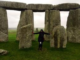 Not many people have a photo like this since most aren't allowed near the stones. , Gayle - May 2014