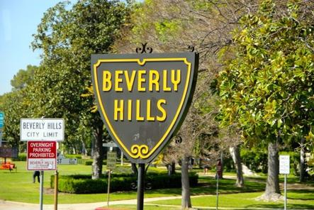 Los angeles highlights tour santa monica venice beach for Beverly hills celebrity homes map