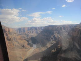 Photo of Las Vegas Grand Canyon Helicopter Tour from Las Vegas landing approach