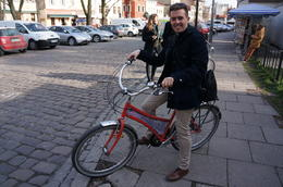 Photo of Krakow Sightseeing Bike Tour of Krakow Lionel and I in Krakow