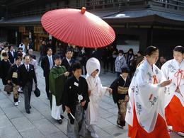 Wedding at the Meiji Shinto Shrine., Tyrone P - February 2008
