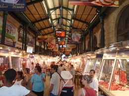 The Athens fish and meat market. , Monique S - July 2012