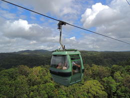 The skyrail was different way to see the rain forest. , Kevin F - June 2014