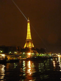 Photo of Paris Eiffel Tower Dinner and Seine River Cruise View from the cruise