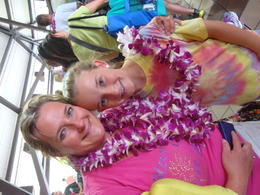 Photo of Big Island of Hawaii Traditional Lei Greeting in Kona Aloha Hawaii!