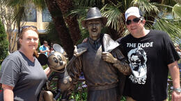 With Mickey and Walt, JennyC - June 2012