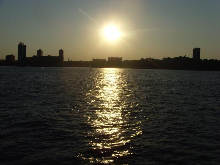 Beginning of the Sunset - New York City