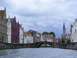 A view of Bruges showing the architecture without all the shops!, Robin H - July 2009