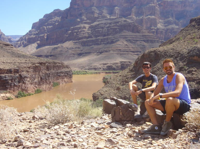 In the Grand Canyon