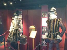 Replicas of the Costumes that were used during Shakespeare's time and still used in the plays., Nick - March 2012