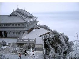 Emei Shan during the winter - June 2012