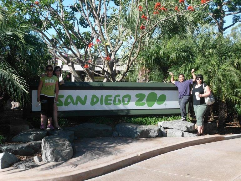 Entrance to the San Diego Zoo - San Diego
