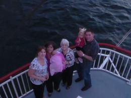 Photo of Las Vegas Lake Mead Dinner Cruise Family photo time
