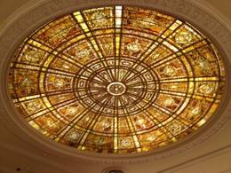 Photo of Chicago Chicago Walking Tour: Tiffany Art Glass Landmarks Fullerton Hall dome