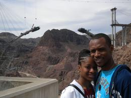 At the Hoover Dam, Jasmine .T - April 2009