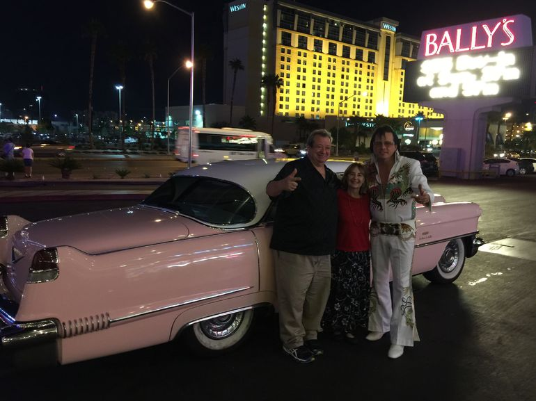 private pink cadillac tour of las vegas with elvis. Cars Review. Best American Auto & Cars Review