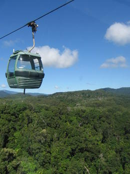 Gliding along the SkyRail above the rainforest from Kuranda. , Ali_Hawk - June 2012