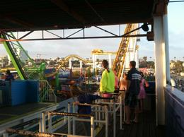 Photo of Los Angeles Ticket to Pacific Park on the Santa Monica Pier Linda Ready for fun..JPG