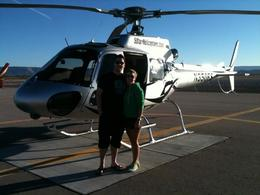 Photo of Las Vegas Las Vegas Combo Tour: Grand Canyon Helicopter Flight and Colorado River Float Day Trip Lizzie  and  Steve do the Canyon in style!