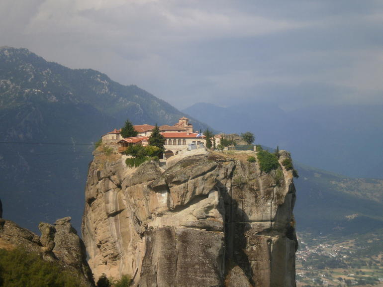 The monastery where the James Bond movie was filmed!