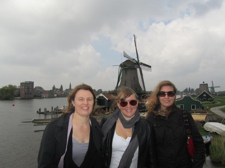 On top of a peanut oil windmill - Amsterdam