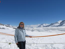 This picture was taken outside on the top of Jungfrau Joch. , Marius F - June 2013