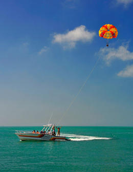 Parasailing in Key West, Amber C - August 2013