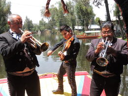 Photo of Mexico City Xochimilco and National University of Mexico The band