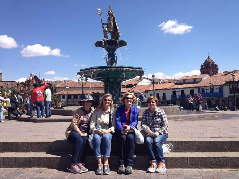 Plaza De Armas...can't believe we were actually here.
