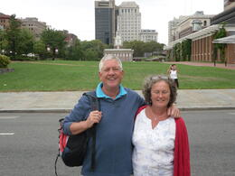 My wife and I on the walking tour , neil_broom - September 2014