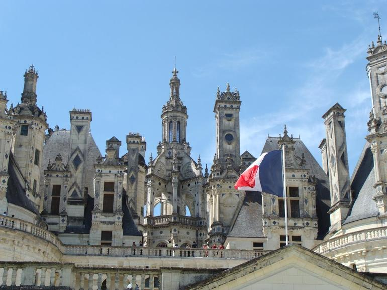 The spires of a Grand Chateau - Paris