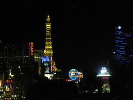 Photo of Las Vegas JERSEY BOYS at Paris Las Vegas Tower at night