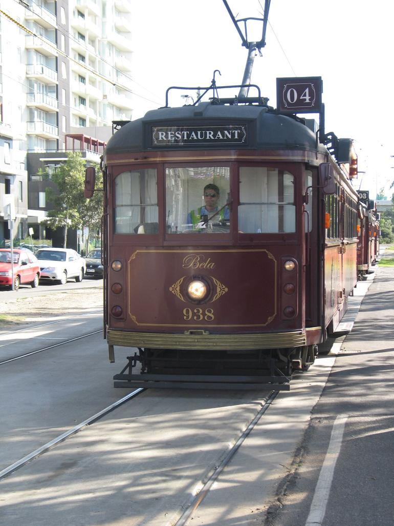 Tram - Dining Car - Adelaide