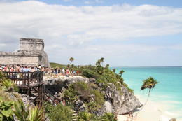 Photo of Cancun Tulum and Xel-Ha All Inclusive Day Trip from Cancun Tulum and the ocean