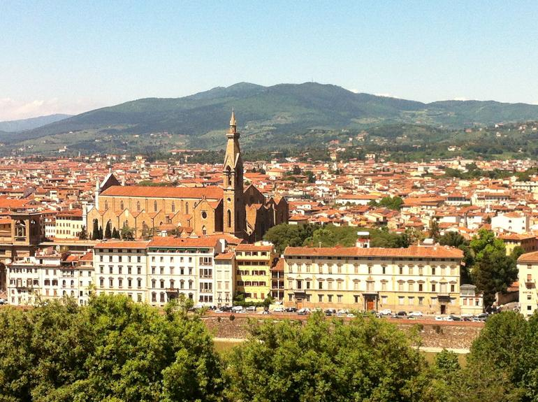 View from Michelangelo Square - Florence