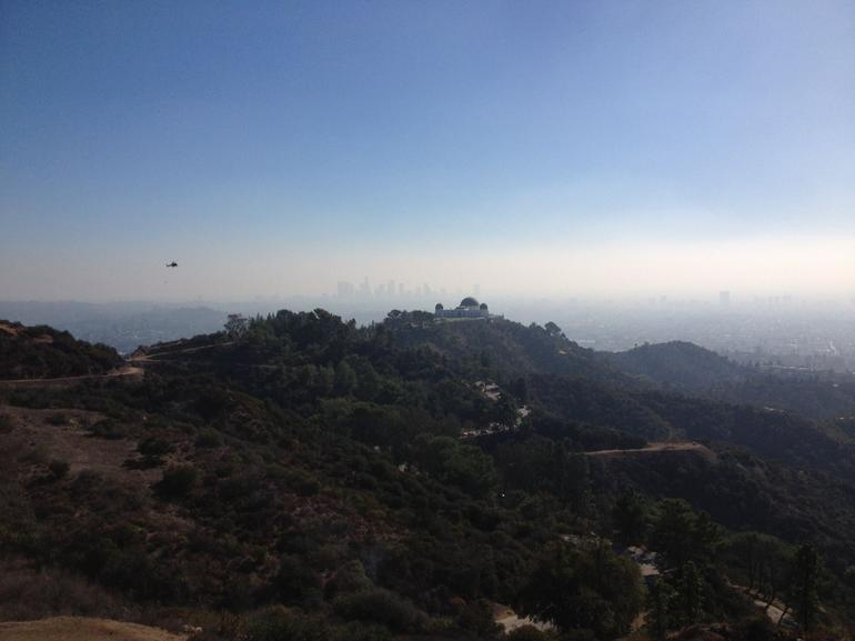 View of Griffith Observatory - Los Angeles