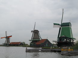 Windmills at Zaanse Schans , Sue A - June 2015