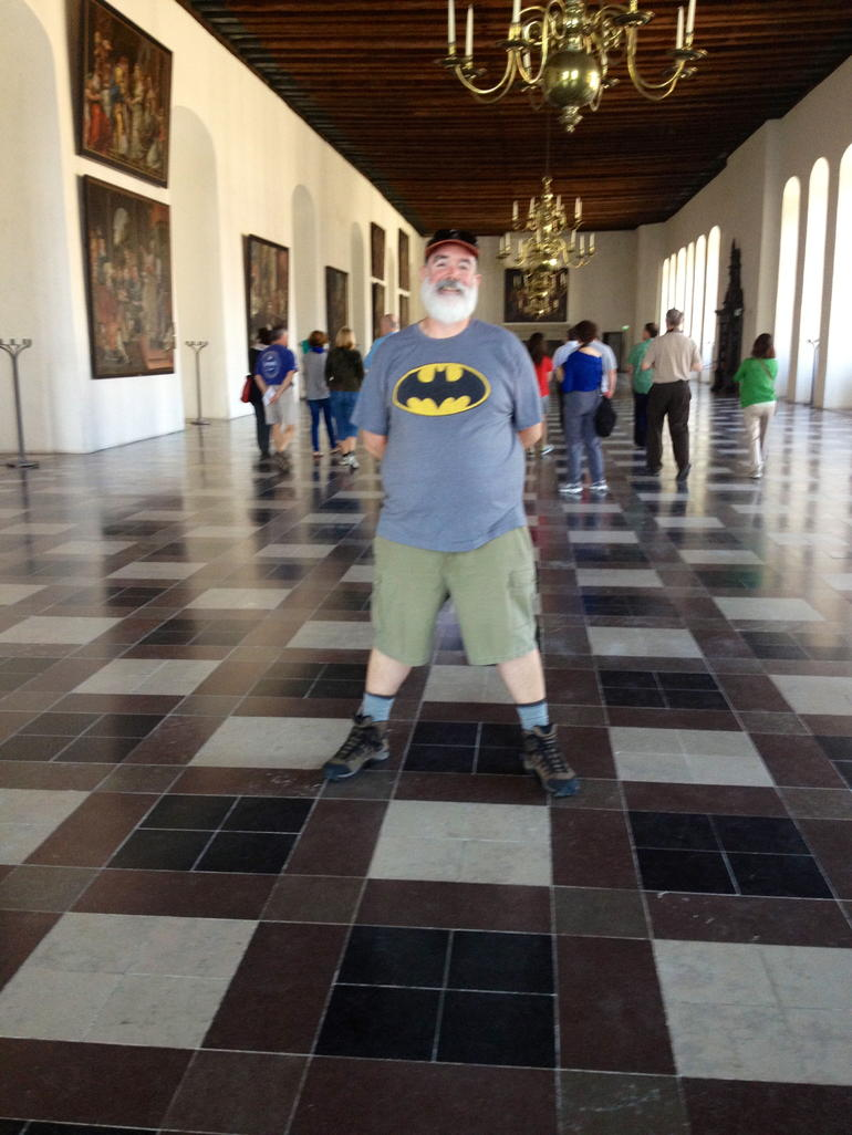 Batman in Hamlet Hall! - Copenhagen
