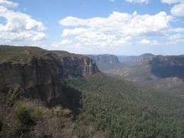 A view of the stunning Blue Mountains, Elizabeth M - October 2007