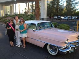 Photo of Las Vegas Private Pink Cadillac Tour of Las Vegas with Elvis Celebrating Roxanne's Birthday Vegas Style!