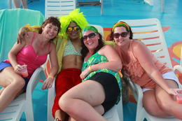 Photo of Cancun Sightseeing, Snorkeling and Dancing Catamaran Cruise from Cancun Chilling with Ricky!